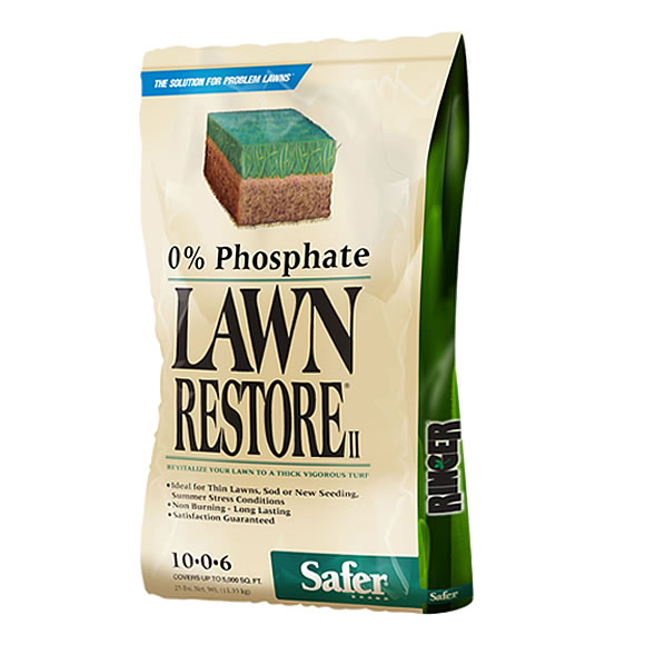 Safer Brand Lawn Restore Is Perfect For Stressed Lawns (Image:Safer® Brand)
